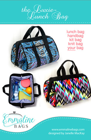 luxie lunch bag pattern