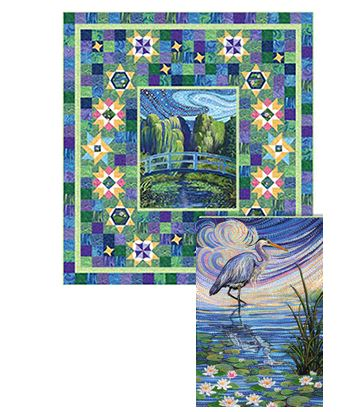 """Water Garden"" block of the month"