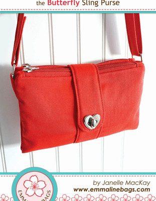 butterfly sling purse pattern