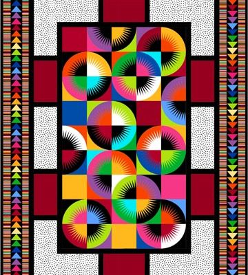 solar flair quilt pattern