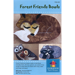 forest friends bowl pattern