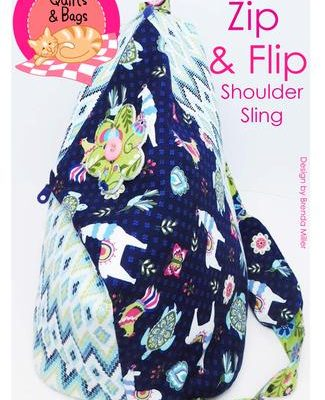 zip and flip shoulder sling pattern
