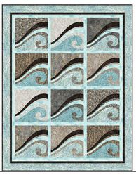 waves at the shore quilt pattern