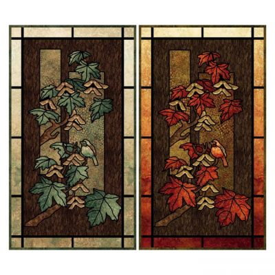 Maplewood Glass wallhanging pattern