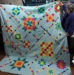 shooting stars quilt kit