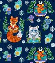 Arctic Wonderland fabric line