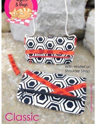 classic foldover clutch purse pattern