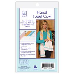 handi towel cowl pattern
