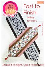 fast to finish table runner pattern