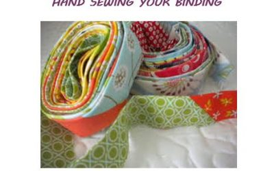 Hand Sewing Your Binding