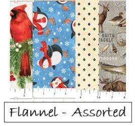 Flannel - Assorted