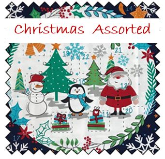 Christmas Fabric - Assorted