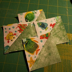 Making Half Square Triangles the Quick and Easy Way