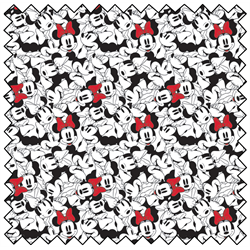 minnie mouse fabric line