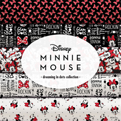 Minnie Mouse Dreaming in Dots